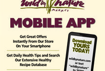 Wild by Nature's new Mobile App! / Finally Wild by Nature has a mobile app!! Download @www.wildbynature.com before 1/20/14 and receive $10.00 off your next purchase of $75.00 or more