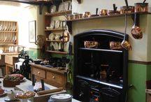 edwardian house kitchen