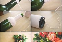 DIY ricycle plastic bottles