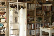 Interiors - Library / by Shannon Webster