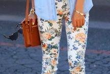Floral:Pants