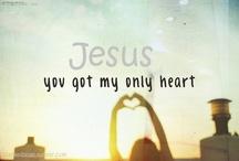 Jesus. / by Bryanna Van Helden