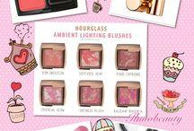 Wishlist / Wishlist, makeup, hourglass ambient blush, ysl rouge volupte, mac skinfinish, guerlain meteorites, makeup collections ring 2014