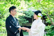 Real Wedding/ Vow renewal at Japanese garden