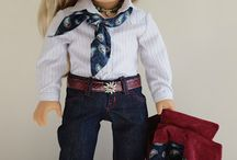 Stitches:American Girl Clothing 2 / Doll clothing.  You truly enter make believe when you begin to dress your dolly.  For American Girl dolls or inspired for them.  I love to make doll clothing for the little girls in my life. They have so much fun.