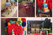 Hawaiian Beach Birthday Party / 16th birthday party outdoor beach party style