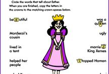 """Esther for Kids / The Bible story of Esther is incredibly powerful. A young Jewish girl is swept into the pages of history and was created by God """"for such a time"""" to save Israel. This board will showcase creative ways to share this great story with your children.  (Want to learn more about my ministry, """"The Scripture Lady""""? Then go to www.scripturelady.com)"""