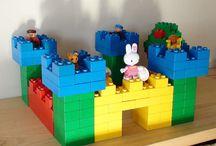 duplo/lego - bouwen