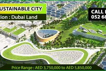 THE SUSTAINABLE CITY Villa / Bunglow Project In Dubai Land Dubai / THE SUSTAINABLE CITY Villa / Bunglow Project In Dubai Land Dubai. The amazing sustainable development project offers countryside living ambience to home owners, and you will never have to pay any service and community charges.