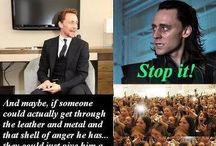 Tom Hiddleston/Loki or otherwise known as Sir Hotness
