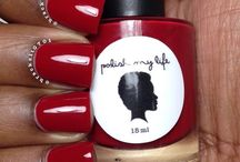 Red Nail Polish / by Blaq Vixen Beauty