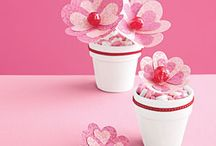 valentine flower craft lollipop flowers