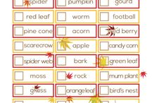 Autumn Themed Resources and Activities