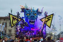 Carnevale di Viareggio 2016 / 3° CORSO MASCHERATO della PRIMAVERA IN MARE