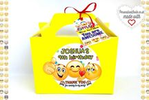 Personalised party boxes
