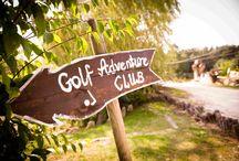 Golf / nasze 18 dołkowe pole do minigolfa