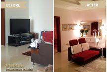 Before & After Interior Design Pics