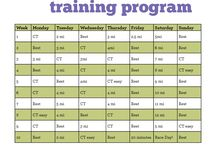 Training Programs / Training Programs for running 5k, 10k, Half Marathon, Marathon and HIIT Training