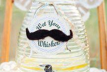 """Wąsy - Moustache / Pomysły i inspiracje na imprezę w tematyce """"Wąsy""""."""