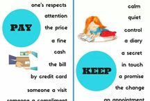 collocations with pay and keep