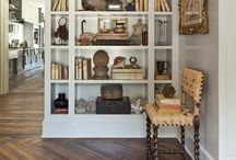 Bookcase Styling  / by Cindy Hattersley Design/Rough Luxe Lifestyle Blog