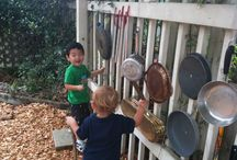 Montessori Outdoor Spaces / Nature and Natural Play