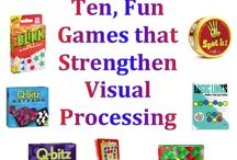 Vision therapy ideas