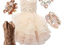 Semi formal and prom dresses / by Ashley Buermann