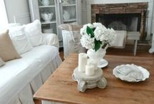 Shabby Chic Decor / I love the Shabby Chic look! Here are some great ideas to help you decorate in the Shabby Chic Style!
