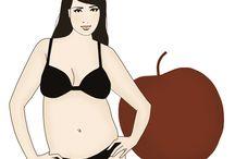 body shape (apple)