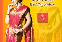 Bridal Wedding Sarees / Choose your best bridal sarees here at Milan Designs which have beautiful saree collections