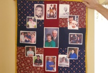 Quilt For Mom's Birthday / Photo Quilt.  This was pretty fun as Mom didn't know about it.  / by Lisa Shingleton