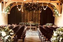 Indoor Ceremonies at The Tythe Barn / Intimate and beautiful! Our wonderful indoor ceremonies.