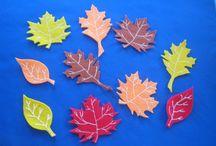 Autumn Fall / Felt Board Patterns and Sets