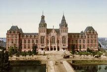 Travel Europe + Barcelona + Amsterdam + Copenhagen / stay + see art/museums  + see architecture + eat/drink