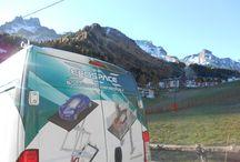 Rotary car parking system: new customized plant in the Dolomites / Sollevatore per auto rotante: nuova realizzazione personalizzata nelle Dolomiti