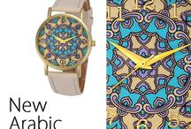 New Arabic / #arabodesign #orologio #firenze