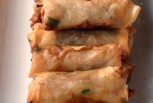 Spring Rolls / Vietnamese, Filipino & Chinese Spring Rolls and lumpiah. Recipes for both fried and baked spring rolls.