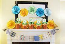 Party: Garden/Flower baby shower / by Ashley Logins-Miller