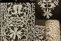 Linen and Lace / Antique Lace. Whitework and other beautiful light on light embroidery.