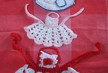 Little aprons crochet