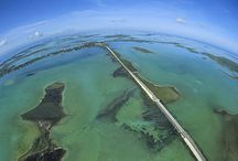 Road Trip - Florida Keys Overseas Highway / 'Highway That Goes to Sea' from Miami down across the Florida Keys following the route of Henry Flagler's Florida East Coast Railroad