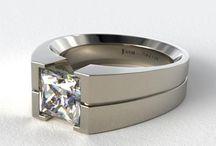 Prsteny pánské