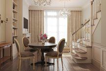 Стол круглый для чайной комнаты