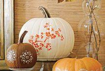 Autumn/Fall Decorating Ideas / Beautiful decorating ideas for the Fall!