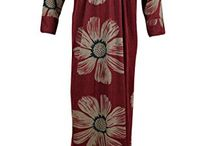 Bohemian Kaftan Maxi Nightgown