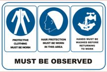 Hospitality safety signs