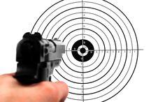 pistol, rifle, hagle skyting
