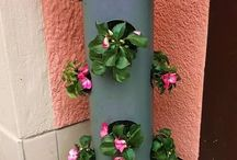 flower container for fuchias