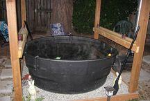 Home made hot tub!!